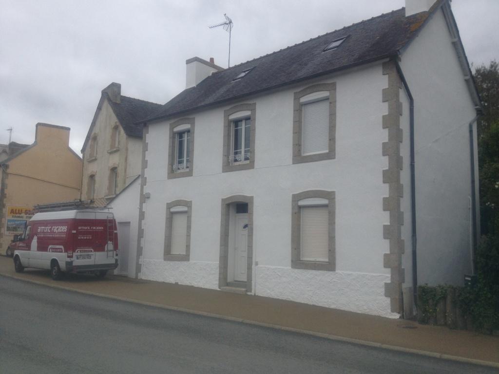 facade maison grise et blanche Facade Maison Grise Et Blanche Perfect Crepi Exterieur Gris